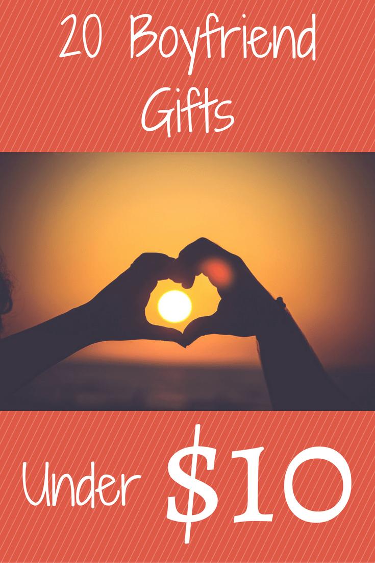20 Boyfriend Gifts Under 10 Christmas Or Birthday