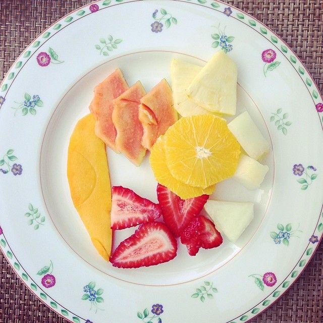 El encanto de la fruta cortada