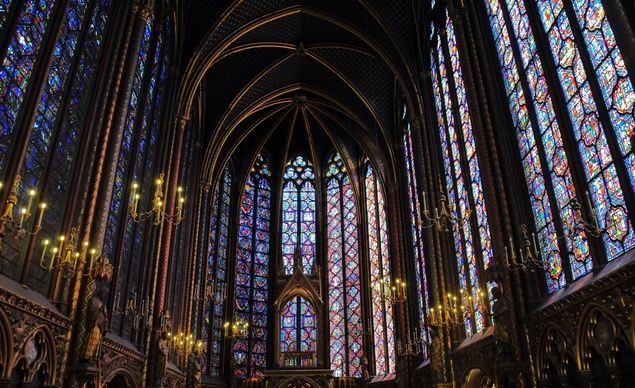 """Sainte Chapelle, Paris. The best stained glass I've ever seen is in this small cathedral near Notre Dame. Don't miss it when you go to see Notre Dame."" (From: 33 Picture-Perfect Reasons to Love Paris)"
