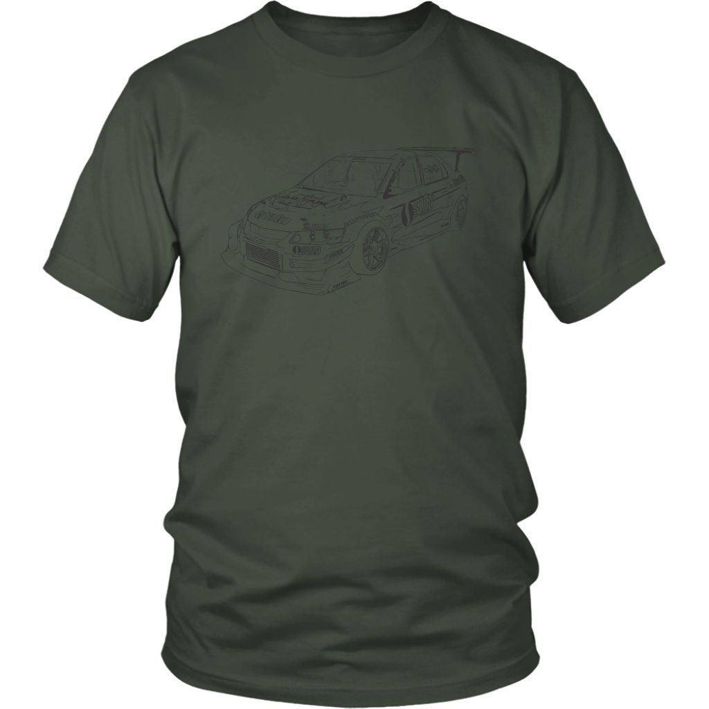 CyberEvo Time Attack Lancer Evolution Men's T-shirt
