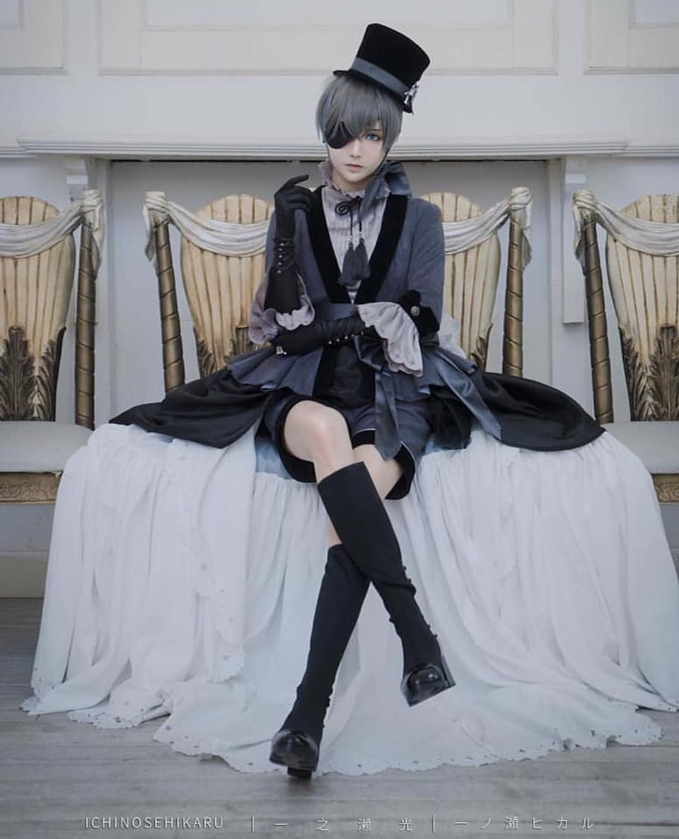 "Photo of Black Butler on Instagram: ""Beautiful cosplay of Ciel ? Cosplayer : @ichinosehikaru ✨ . . . . . . . #blackbutler #kuroshitsuji #vincentphantomhive #vincent #ciel…"""
