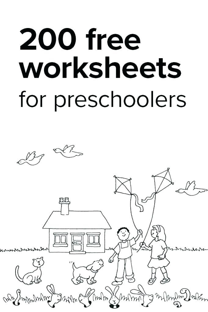 Preschool Worksheets Age 3 or Free Printable Preschool Worksheets Tracing Lines