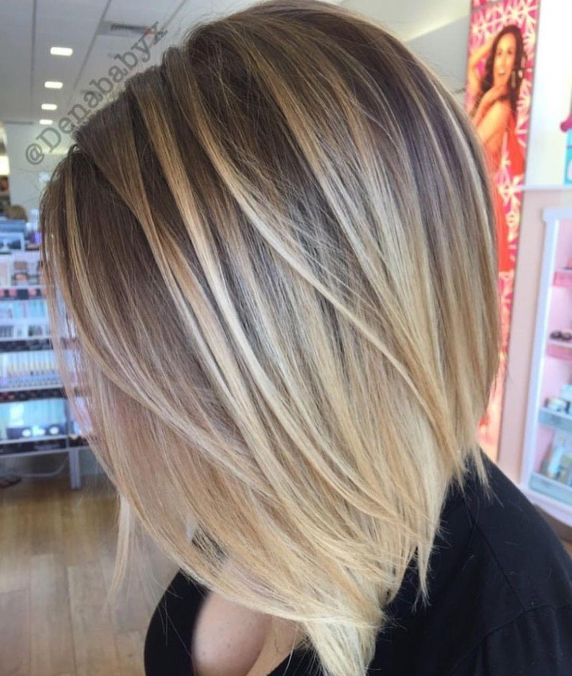 Short Hair Blonde Balayage Highlights Natural Ice Queen Lowlights Straight Hair Cuttin Blonde Balayage Highlights Blonde Balayage Balayage Straight Hair