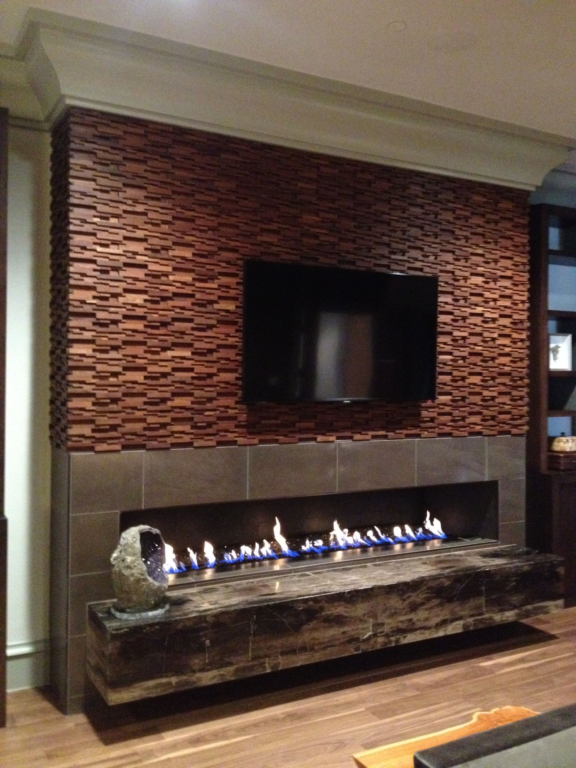 decor tips amazing fireplace surround for linear with wall mounted