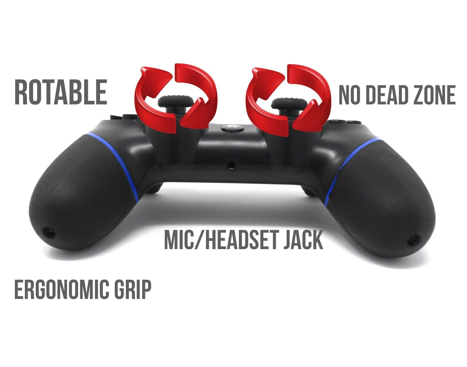 CHASDI C200 PS4 Controller Wireless Bluetooth with USB Cable
