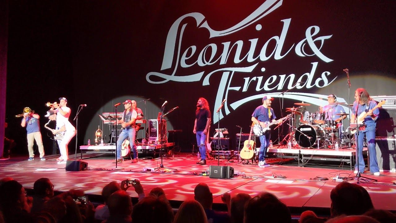 Leonid and Friends in ST Utah live concert opening