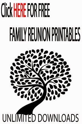 Family Reunion Ideas Family Reunion Ideas 2015 Family Reunion - free printable family reunion templates