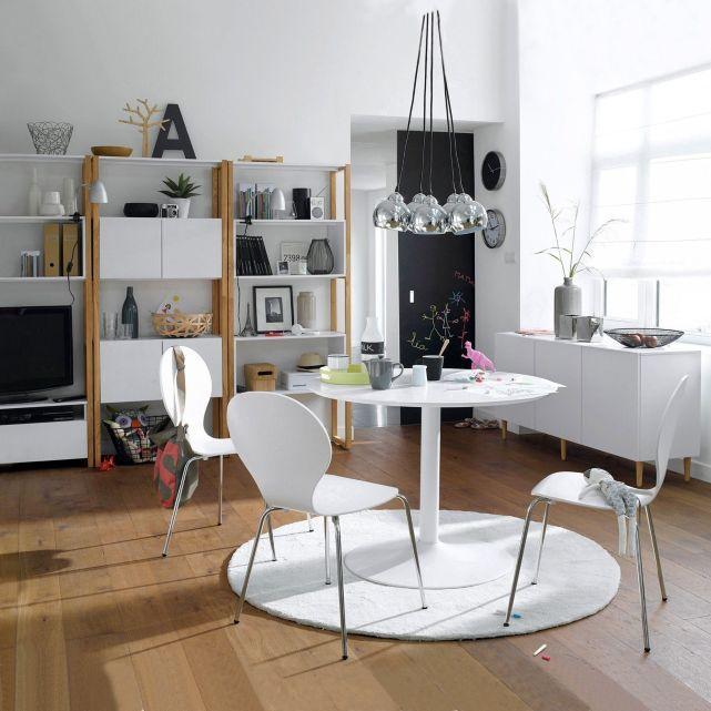 suspension grappe 5 abat jour miaka la redoute 90e cahier tendances maison office desk. Black Bedroom Furniture Sets. Home Design Ideas