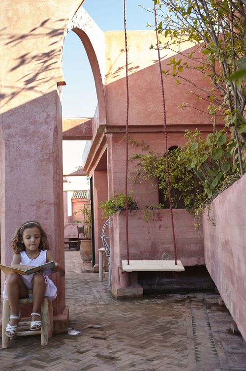 Swing Riad Jardin Secret Marrakech Maroc Travel Morocco
