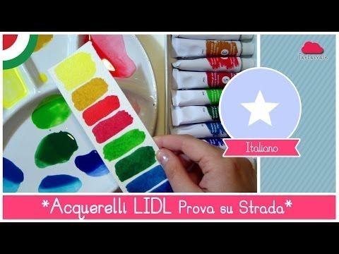 Acquerelli economici della LIDL: Prova su Strada by Fantasvale - YouTube