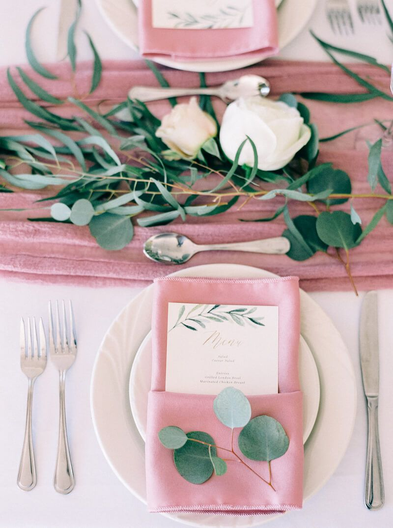 plate setting from Bluestone Vineyard Wedding | Weddings | Pinterest ...