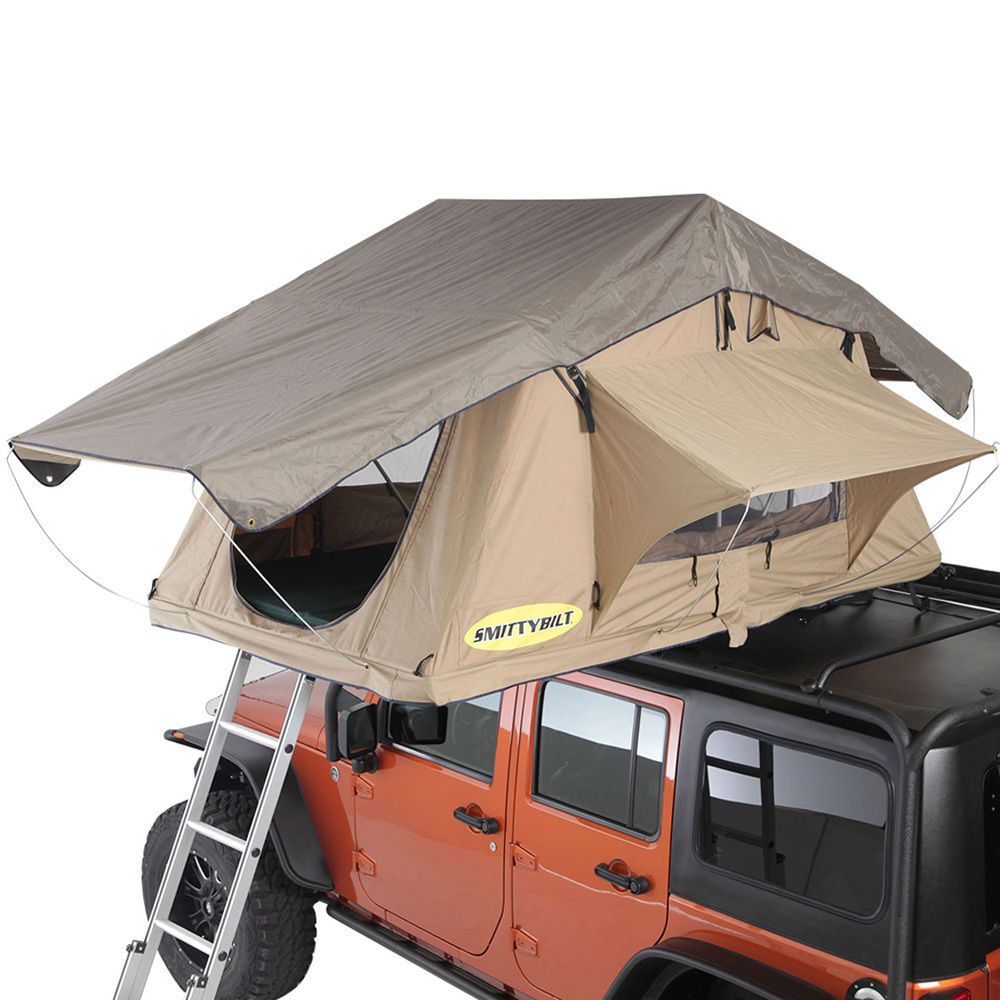 Smittybilt Overlander Coyote Tan 2 Person Roof Tent eBay