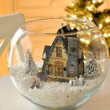Resultado de imagen de snow globe craft