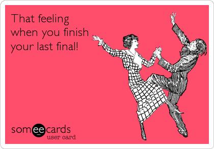 ah. best feeling. today!
