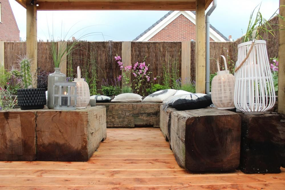 Zomerse Tuin Inspiratie : Zomerse ibizatuin deel eigen huis en tuin tuin outdoor