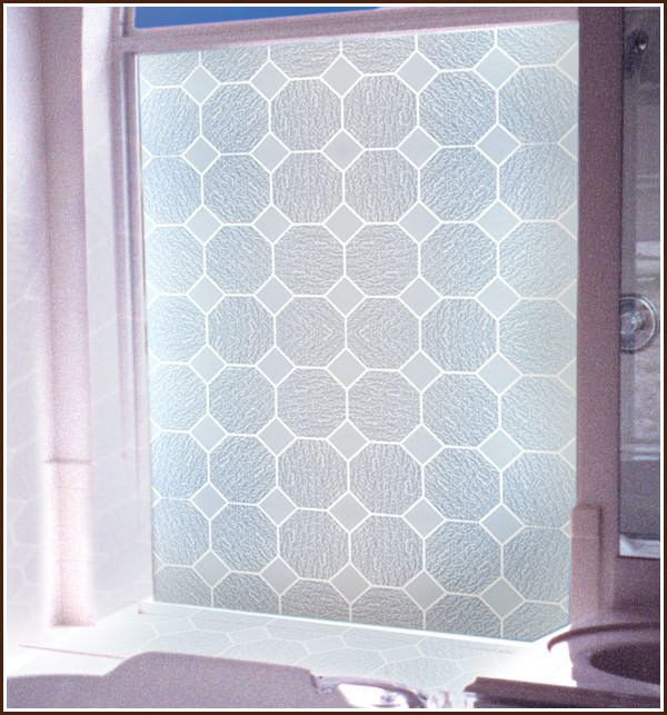 Gl Octagonal Block Privacy Window Film Static Cling Windowslarge
