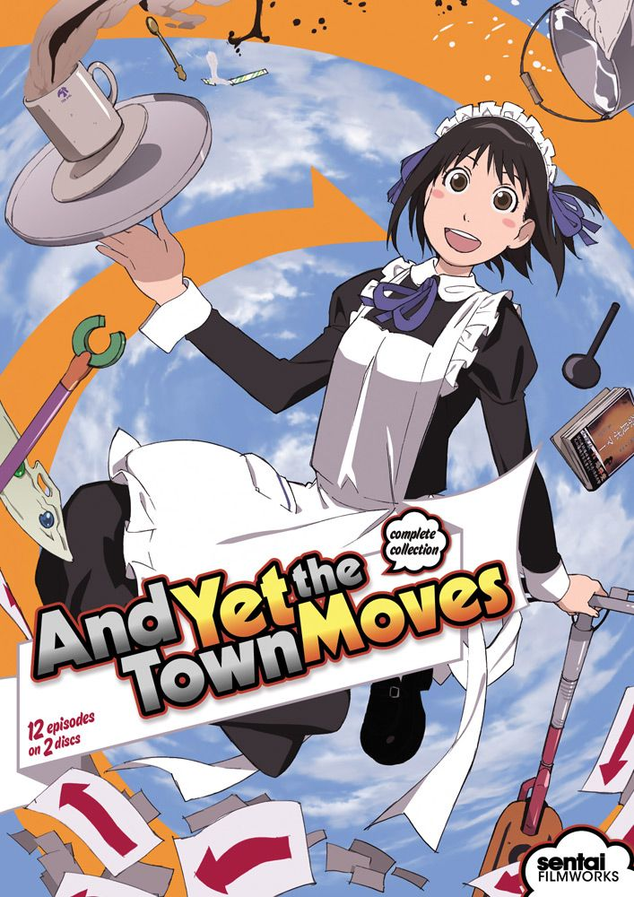 And Yet The Town Moves DVD Complete Collection (S); Nice