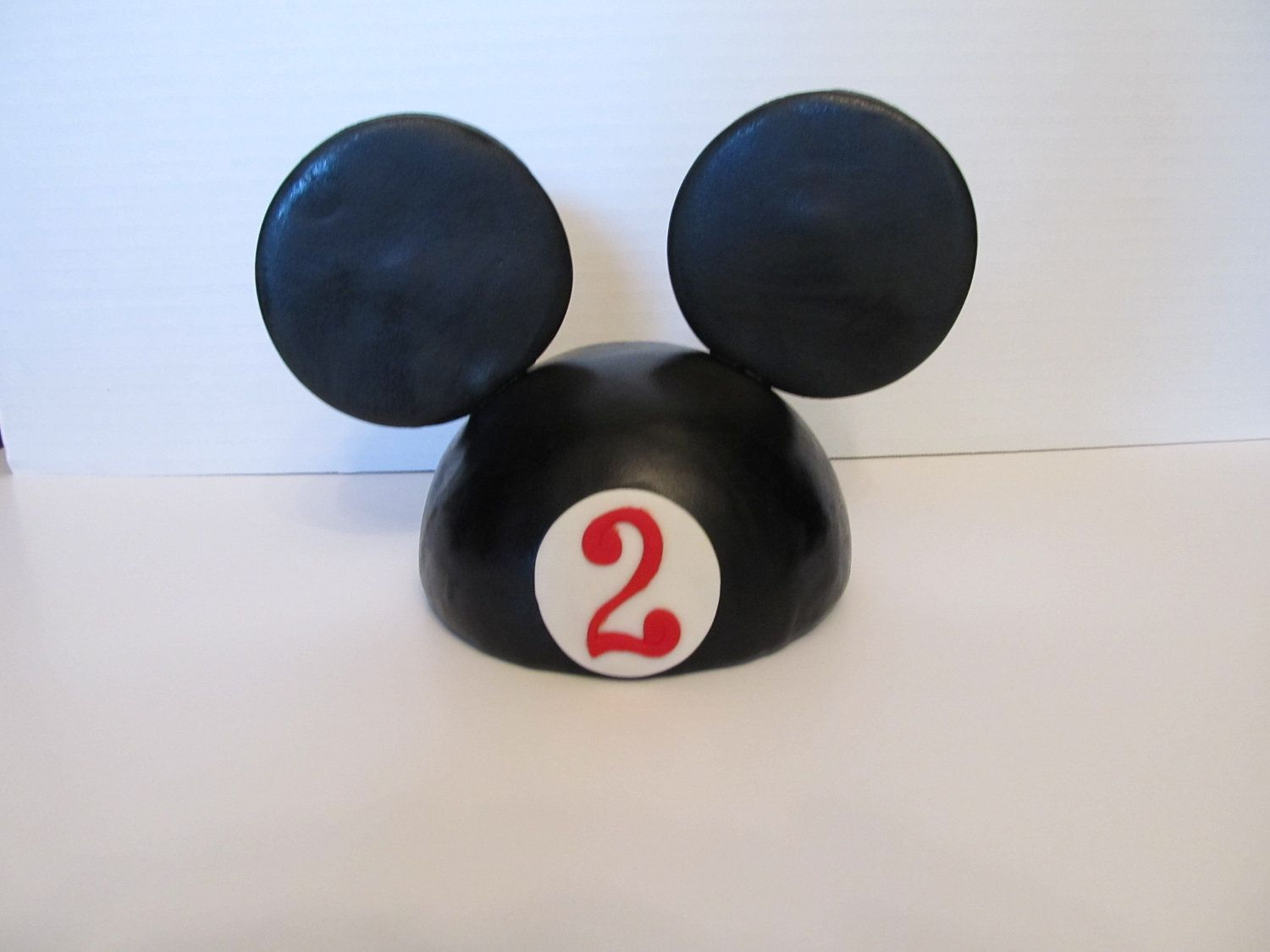 Fondant Mickey Mouse Inspired Dome Head And Ears By 1stopparty 21 95