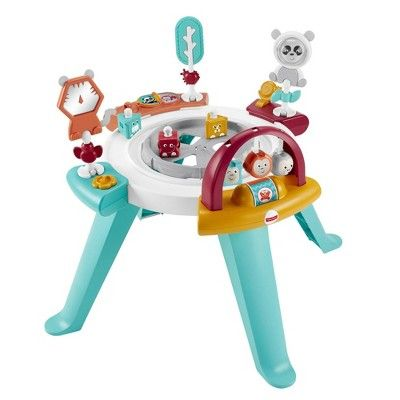 Fisher Price 3 In 1 Spin And Sort Activity Center In 2020 Sorting Activities Activity Centers Toddler Play