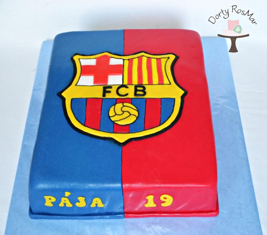 Cake Design Barcelona : FC Barcelona Cake Inspiring Ideas Pinterest FC ...