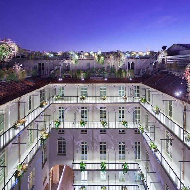 Nova vida ao palazzo de 1663 Reforma leva luz à obra histórica