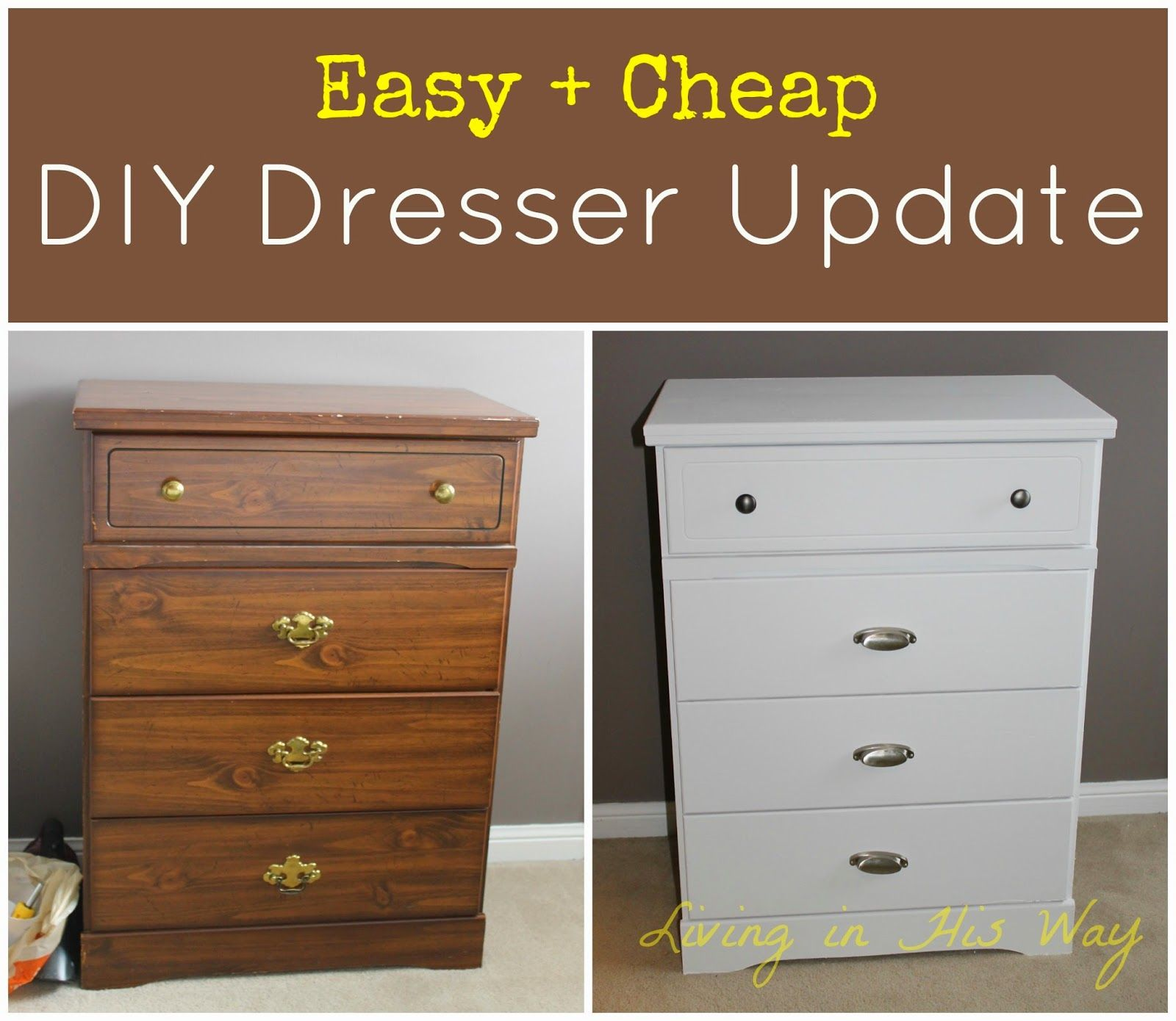 Elegant This Is A Quick And Easy Tutorial On How To Make Old Furniture New Again.