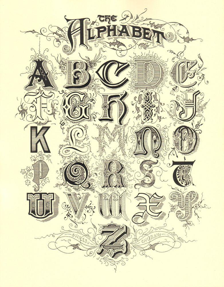 Image of Alphabet Print!