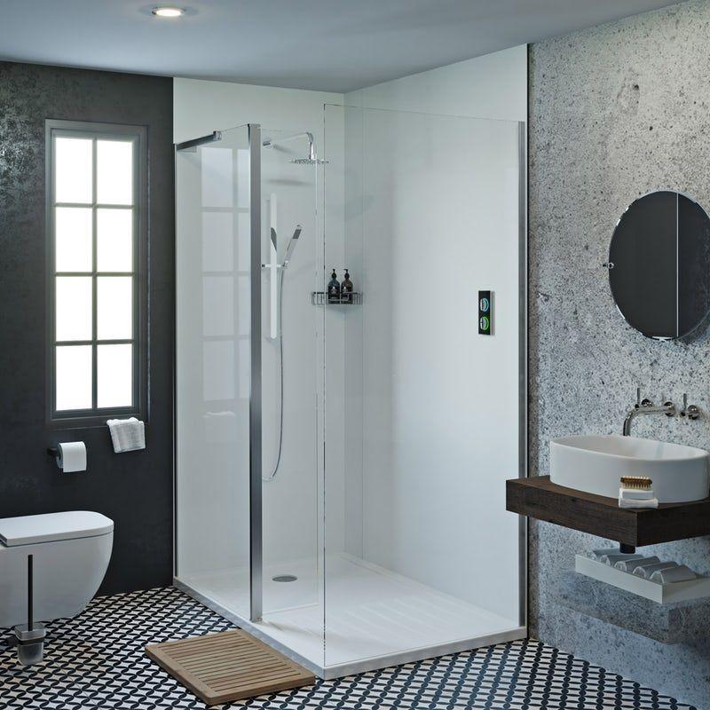 Showerwall Acrylic Arctic Shower Wall Panel Shower Wall Bathroom Shower Walls Shower Wall Panels