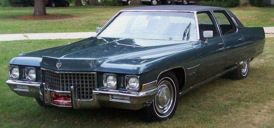 1971 Cadillac Fleetwood Brougham