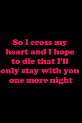 I Cross My Heart I Hope To Die Maroon 5 Rap Quotes Rap Lyrics Quotes Einstein Quotes