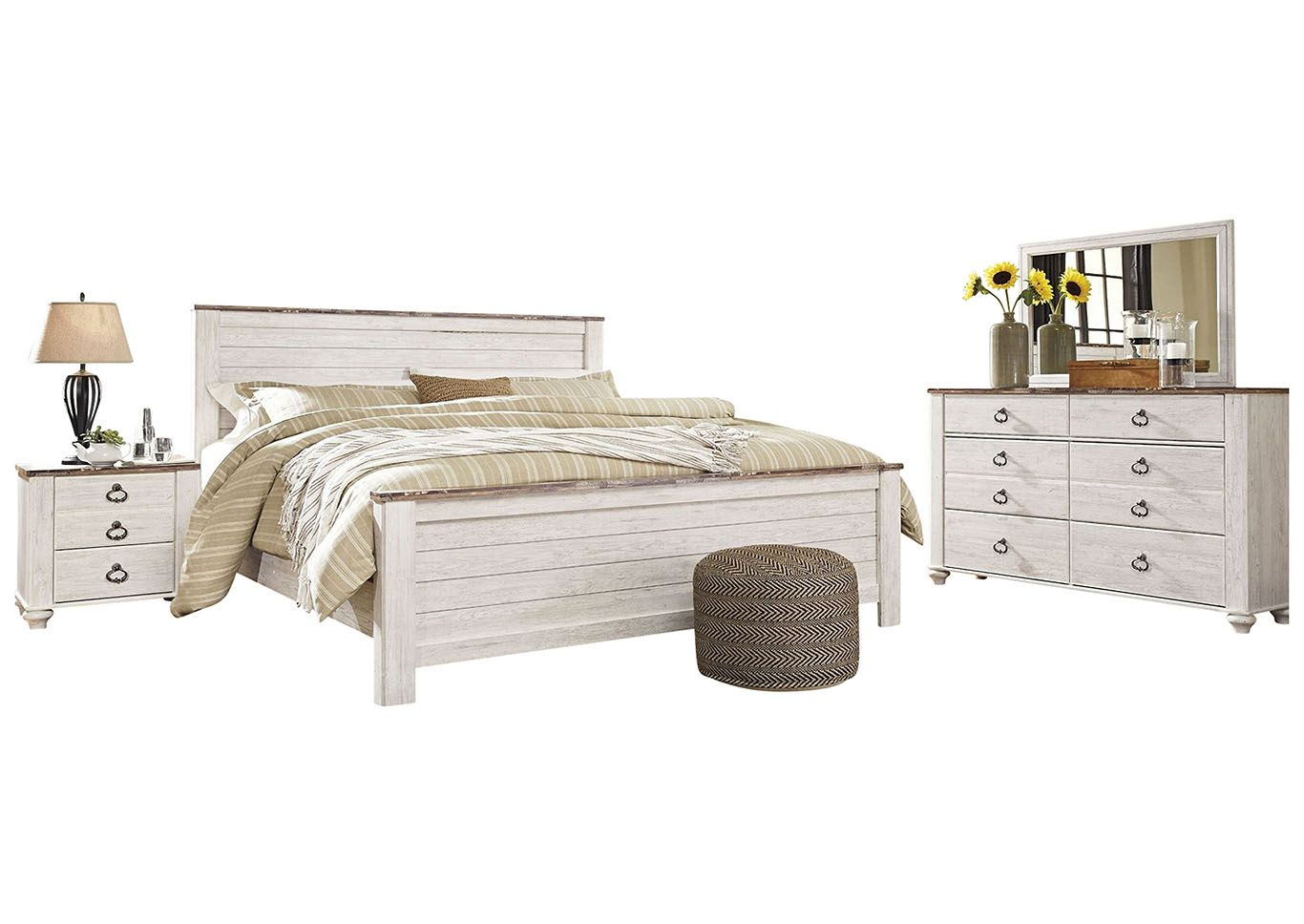 SAVE over 110 and enjoy the Willowton Collection. Queen