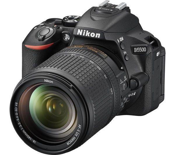 Nikon D5500 Digital Slr Camera Af S 18 140mm Vr Lens Kit Afflink Nikon Dslr Camera Nikon Digital Camera Nikon Digital Slr