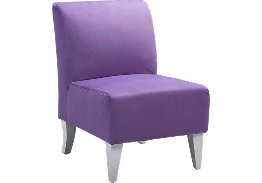 Shop For A Kelley Purple Chair At Rooms To Go Kids. Find That Will Look