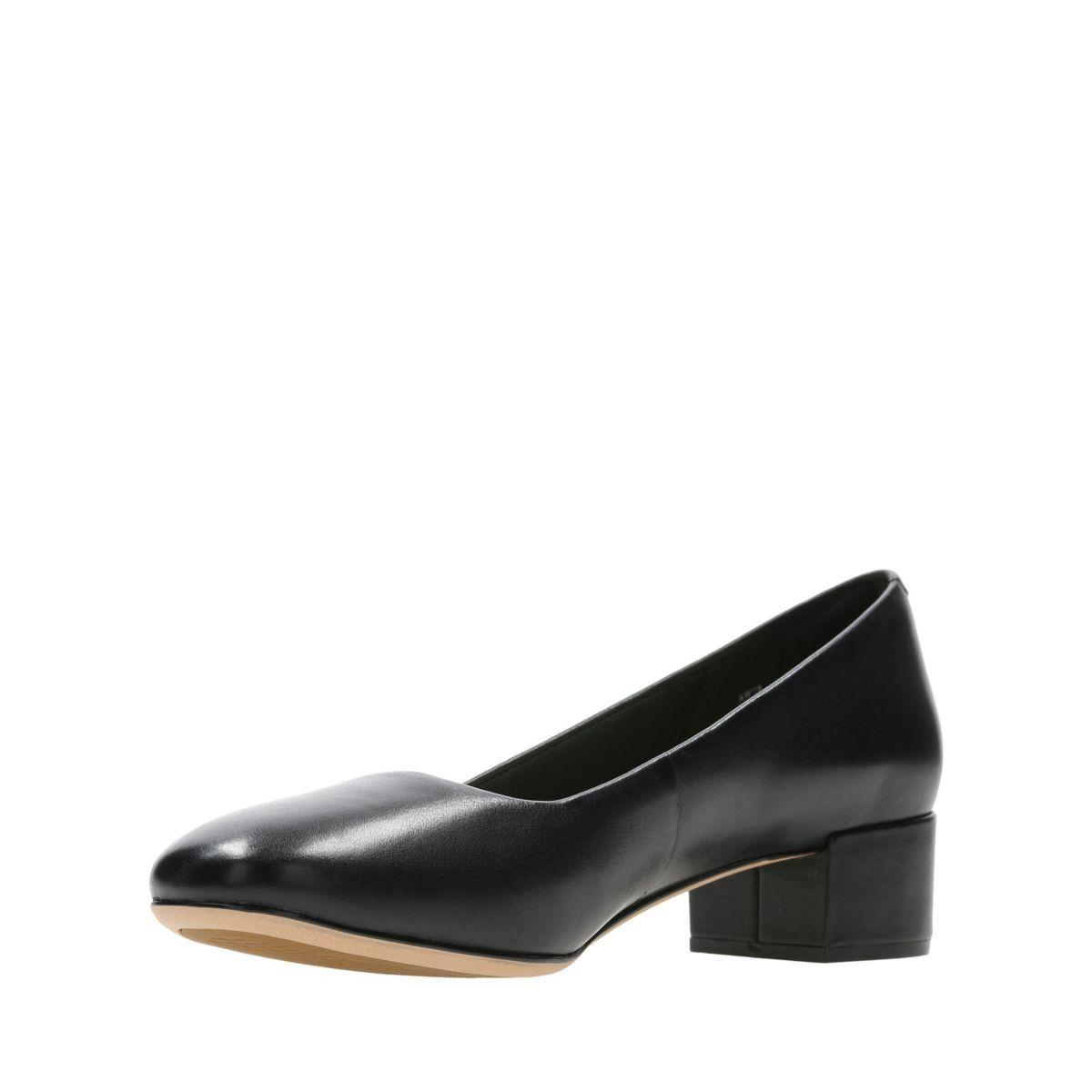 37364c6c294 Clarks Orabella Alice - Womens Shoes Black Leather 6.5 D (Medium)   womenshoesblack