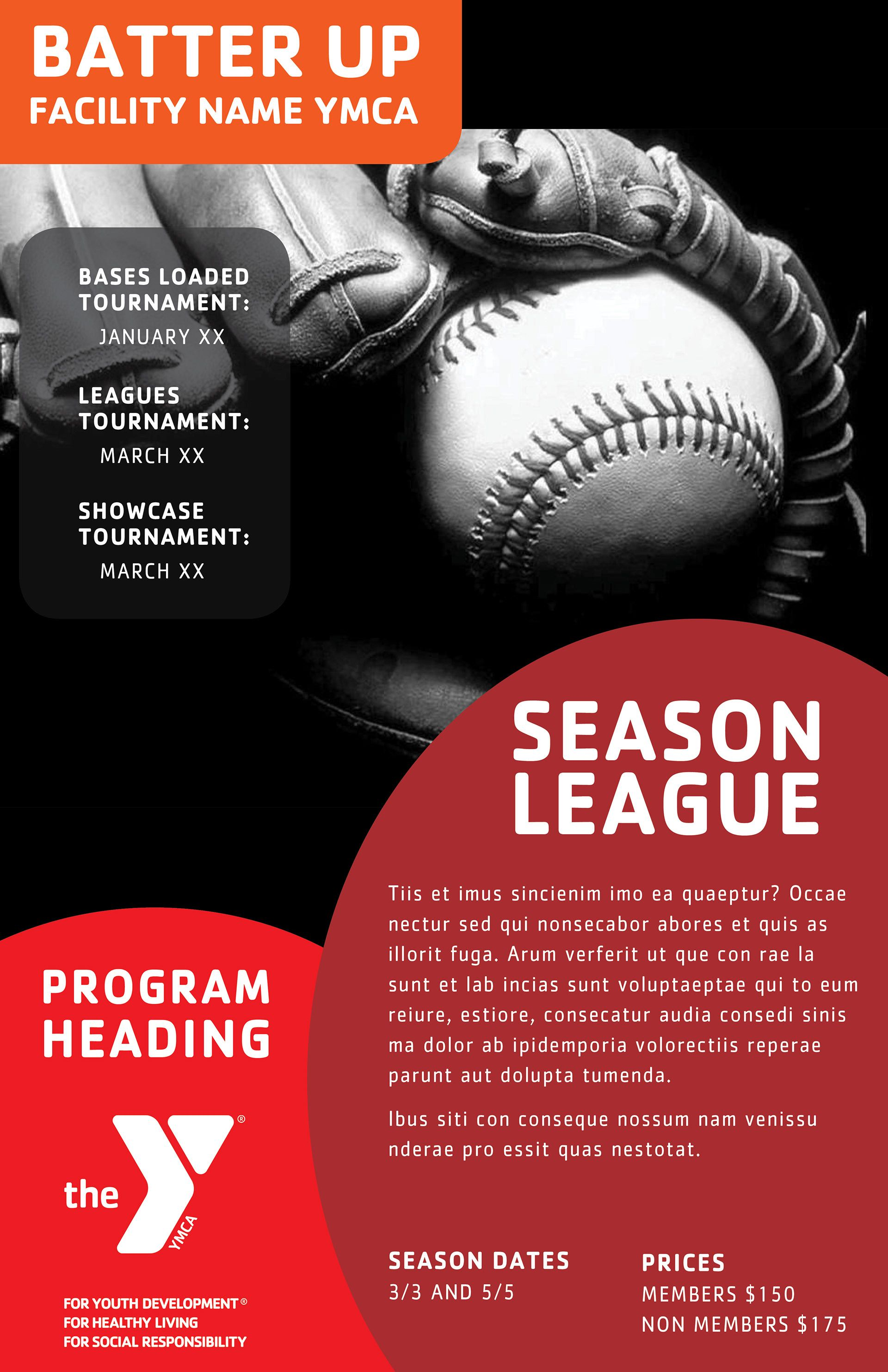 Layout Concept Ymcas Offer A Wide Range Of Programs Baseball Ymca Healthyliving Fitnessfun Healthandwellness Ymca Marketing Poster Fun Workouts