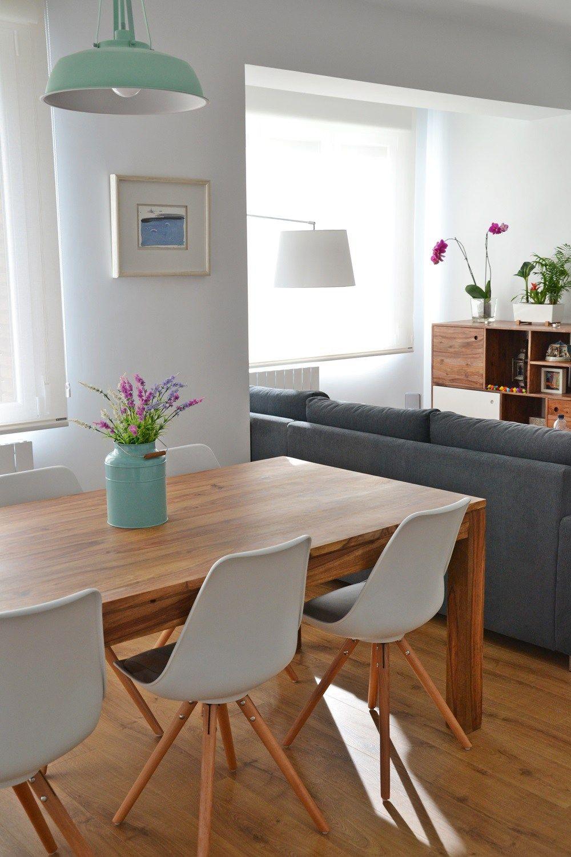 Hogares de nuestros lectores piso en zaragoza dise o n rdico decoraci n de sal n y blog - Blog de decoracion de interiores ...