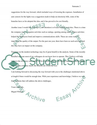 Business Letter Essay Example Essay Examples Education Quotes