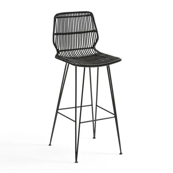 Chaise De Bar En Kubu Malu En 2020 Avec Images Table Haute Chaise Bar Tabouret De Bar