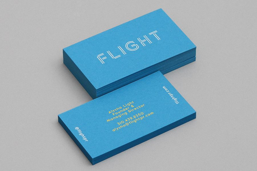 New Logo for Flight PR by DIA — BP&O | Public relations, Business ...