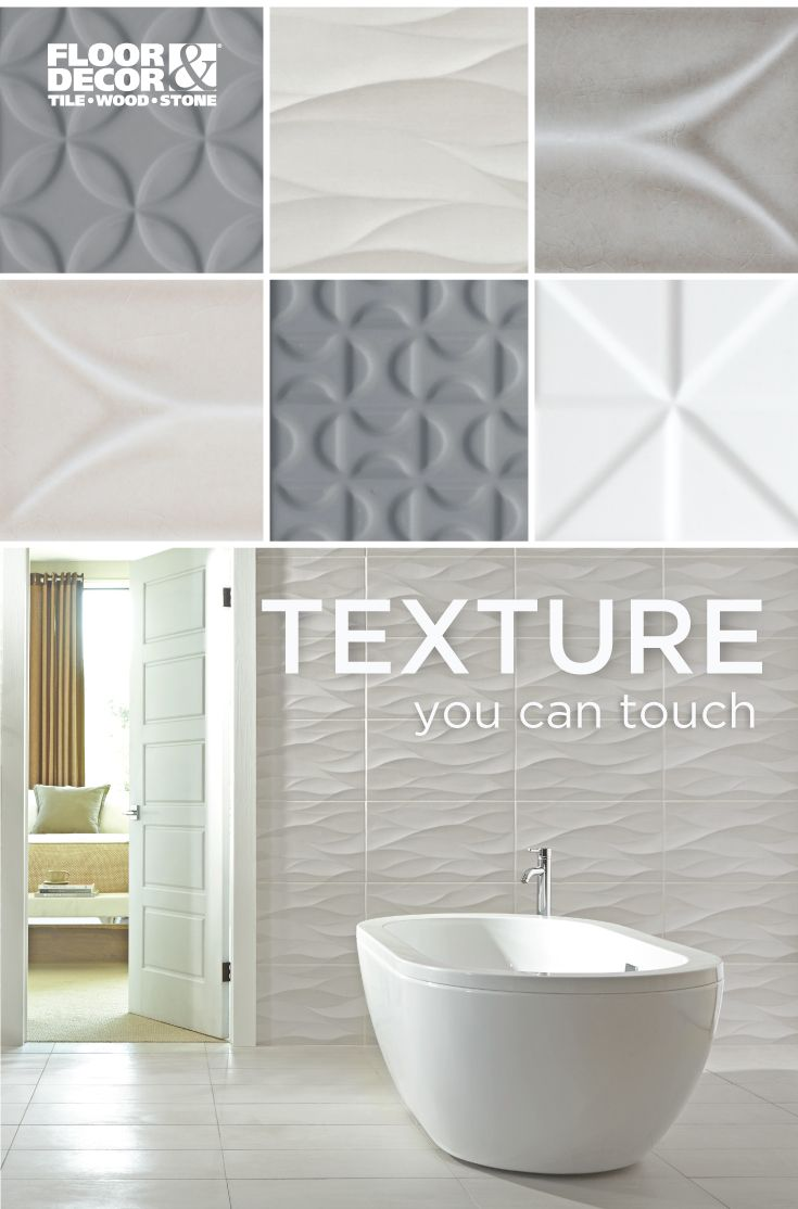 Can\'t get enough of texture and structure for your walls? Find more ...