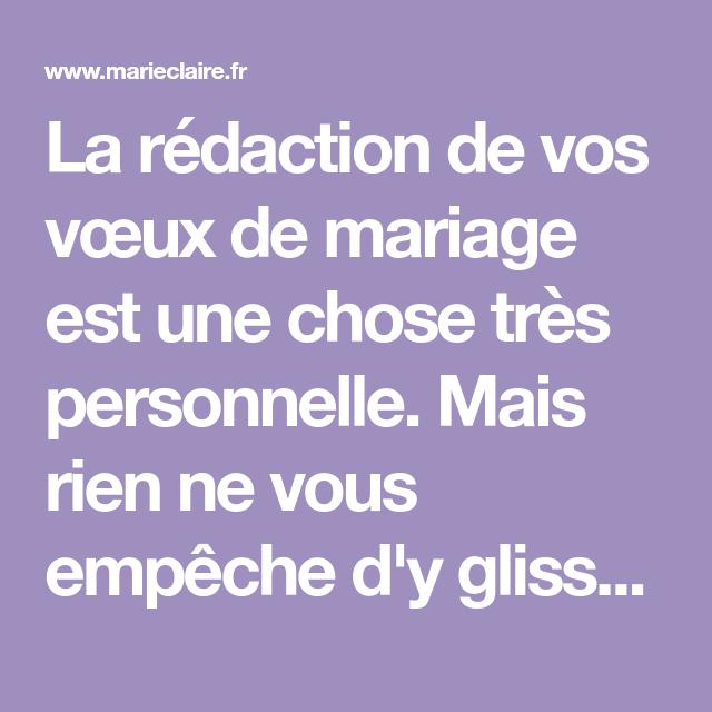 Les Citations Originales à Glisser Dans Ses Voeux De Mariage