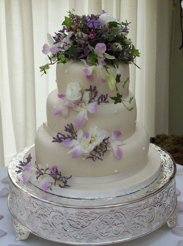 Image Detail For Orchids Orchid Wedding Cake Cakes With Flowers Flower