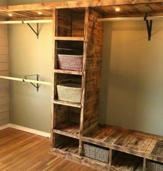 cabina armadio fai da te nel 2020 | Decorazione armadio ...