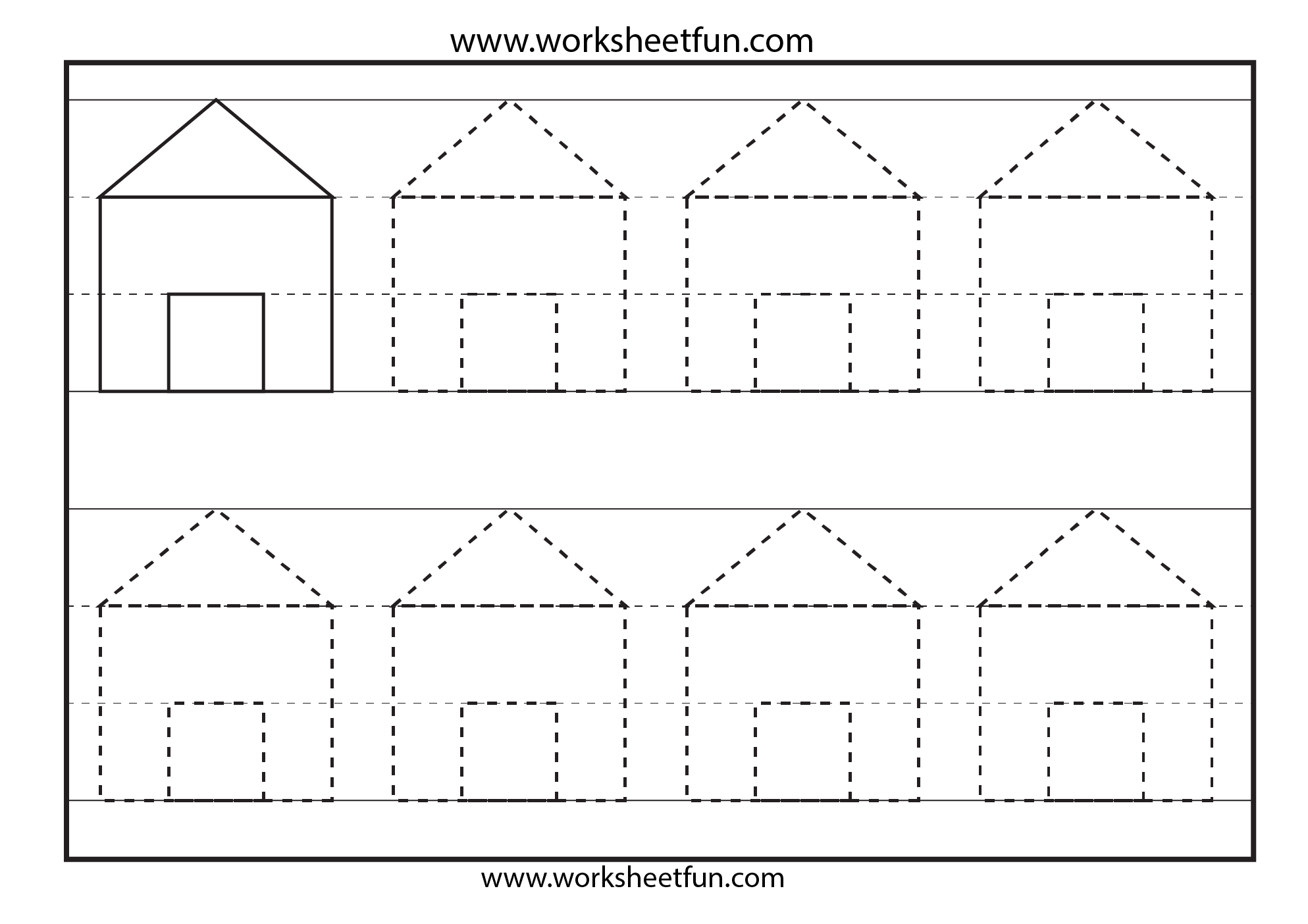 Worksheets Tracing Shapes Worksheets tracing shapes preschool worksheets delwfg com 1000 images about for gia on pinterest shapes