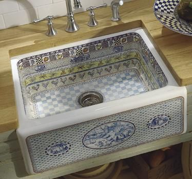 Kohler Life in the Country Artist Edition Fireclay Sink - Kitchens ...