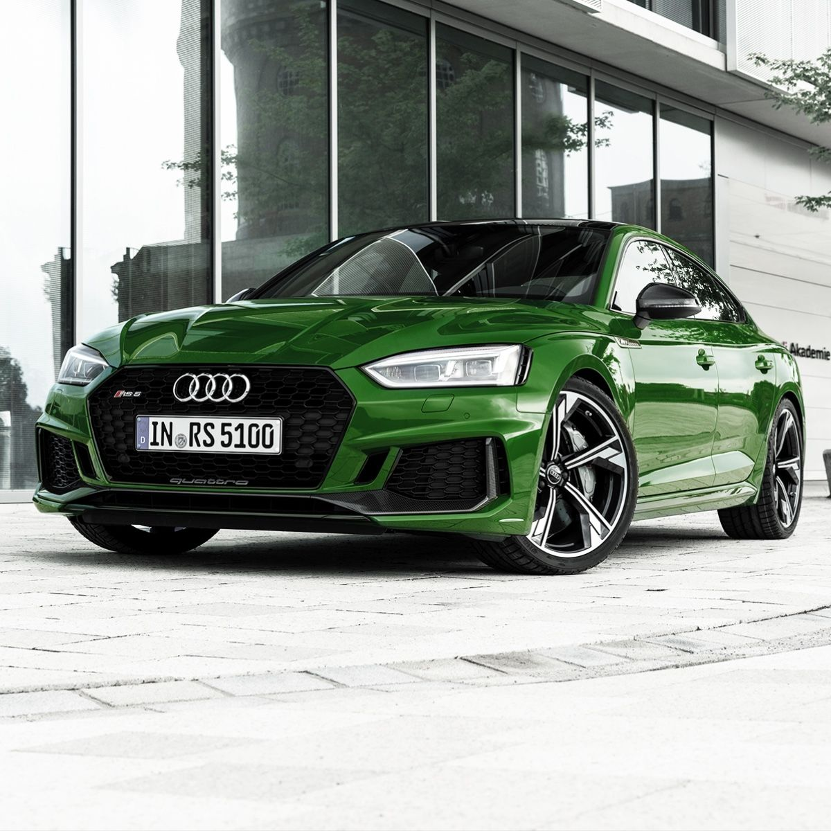Heavy Loaded The Audi Rs 5 Sportback In Sonoma Green Audi