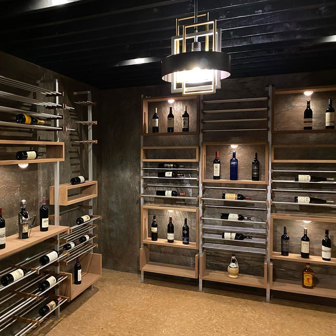 This wine cellar we just finished for our amazing clients is a mood in itself 🍷 ▪️ ▪️ ▪️ ▪️ #interiordesign #utahhomes #realestate #utahrealestate #houzz #customhomes #designlife #pinterest #interiors #decor #interiordecorating #architecture #saltlakecity