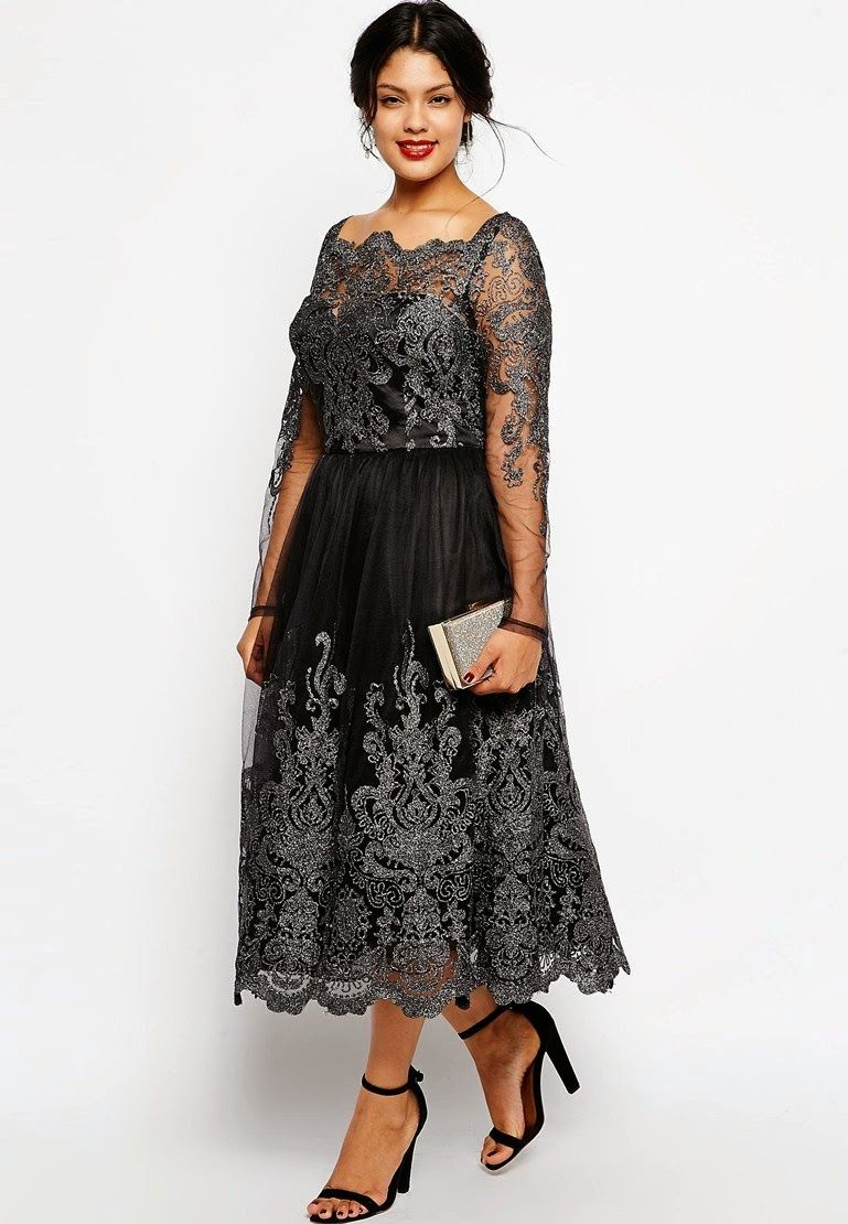 A style plus size formal wear finds modest clothing for Plus size midi dresses for weddings