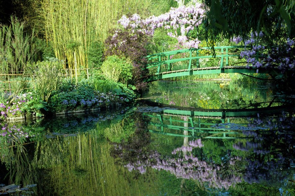 Monet 39 S Painterly Water Garden In Giverny February 2014