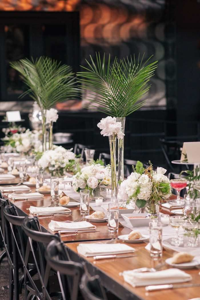 Prime Brooklyn Wedding A Fab Art Deco Theme Wedding Centerpiece Home Interior And Landscaping Elinuenasavecom